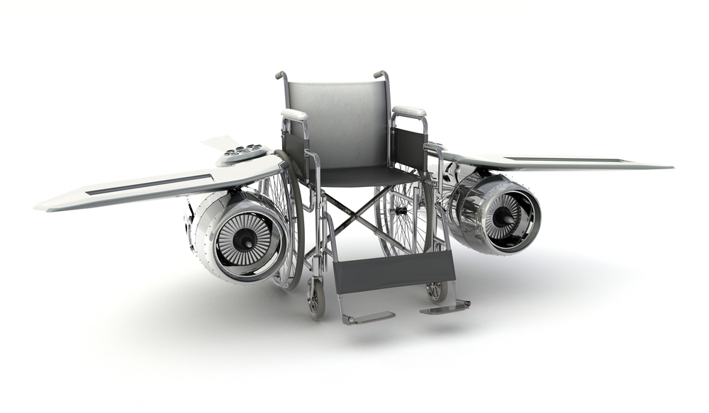 wheelchair with turbo engine