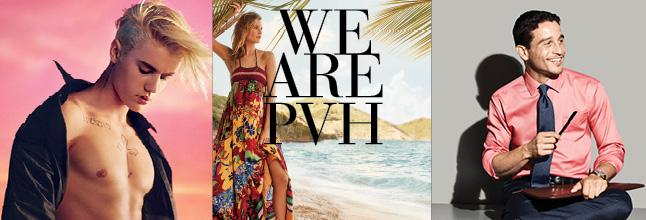 Rock Your Profile. We Are PVH: Growing Global Brands. Tommy Hilfiger, Calvin Klein, Van Heusen, IZOD, Arrow, Speedo, Warner's, Olga